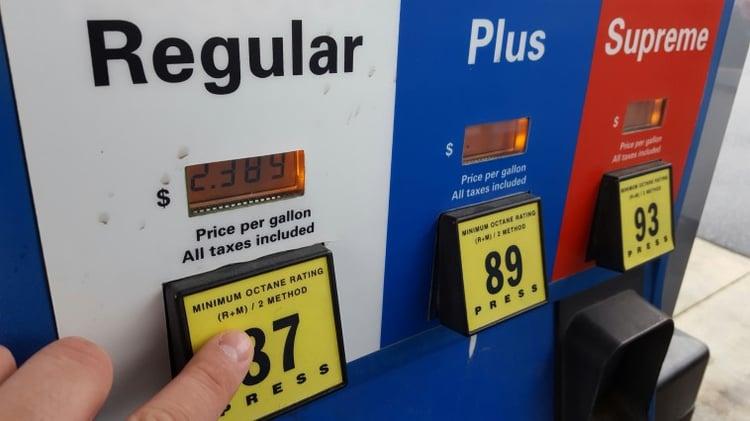 Fuel Card Receipts